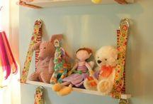 Stuffy organization/kids bedroom decor