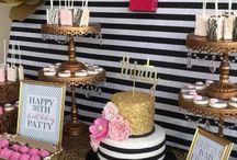 kate spade inspired party / Alysah Birthday