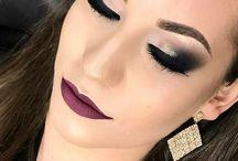 Maquiagem Passo a Passo / Dicas de maquiagem, truques de maquiagem, maquiagem para noite, maquiagem profissional, maquiagem chic