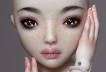 Art Dolls / Fabrications et customisations de poupées.