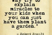 Kiddie Korner / Kids are naturally curious so give them something to discover in the garden and other fun places.