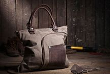 Leather and Canvas Bag Pinned Collection / Leather and canvas models that I like.