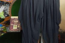 pantalon cagao negro