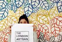 Instagram Wall / Every quarter The London Artisan asks a local designer maker to collaborate on a feature wall within the space to be used as an Instagram wall which promotes both The London Artisan and designer. The wall will be seen every Sunday by the public and promoted widely through social media and the TLA website.