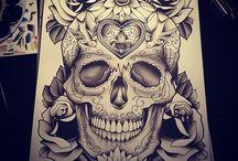 Tattos / Tatuajes y dibujos