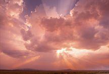 Rengarenk Bulutlar Dansı / Bulutlar, gökyüzü,