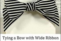 Ribbon and Bows / by Angie Morgan