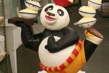 Gâteaux 3D Kung fu panda