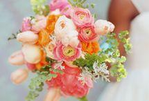 Bouquets + Arrangements / A compilation of different types of bouquets and arrangements / by The Bride's Cafe