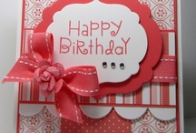 Cards - Birthday / by Suzanne Bunnell