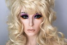 Custom Wigs by Ron Edelstein / As the owner of New Attitude Wigs and Drag Wigs.com, I am called upon by customers to create something new for them. Here is a sampling of my designs.