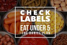 Daniel Plan Journey  / by Heather Woods