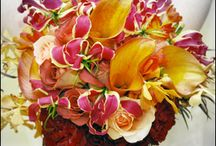 Skow fleur design / This board is full of wedding work that was done by the designers of the Skowhegan Fleuriste.