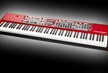 Nord Organ & Keyboards / Nordy! Nordy! Nordy!  As an organist, I dreamed of finding a double keyboard with foot pedals... and my dreams came true!   I love to play and record my music on my Nord keyboards - the Dream Machines!    KristenLawrence.com