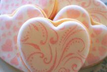 Biscoitos decorados - Estêncil