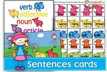 Activities/ideas and lesson plans for grammar / Activities for syntax, grammar, pronouns, verb agreement, English tense, sentence structure, prepositions, language