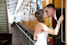 Wedding at Train Station