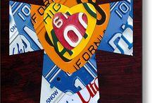 License plate art / Art / by Dick Clark