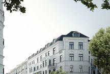 Contemporary classic facade