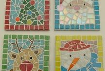 Xmas mosaics