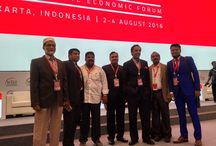 Decentralising Growth, Empowering Future Business / Mr. Afzal, Chairman & Managing Director have attended the 12th WIEF (World Islamic Economic Forum) on 2nd - 4th August 2016 at Jakarta, Indonesia.
