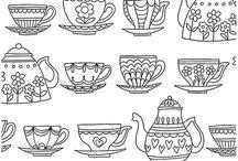 Happy Tea Art