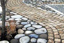 Nupu- ja noppakiveyksiä (cobblestones)