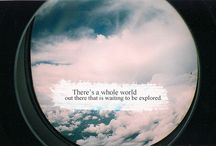 There Is A Whole World Out There That Is Waiting To Be Explored. / by Lyndsey Welch