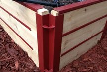 Raised Beds / Our raised beds are great for all of your gardening/ landscaping needs.  With using our Raised Beds you are not only making your gardening area look good, but making it so you can have great soil for growing your gardens.