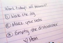Chores rules & media