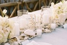 Sea table decor