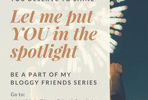 Bloggy Friends Spotlight Series