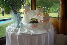montaje tortas de casamiento .