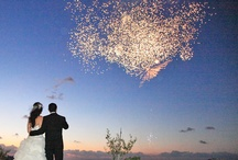 Santorini Wedding Fireworks / Fireworks for the perfect ending of a wedding ceremony. Perfect for a destination wedding on Santorini / by Santorini Weddings