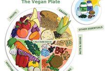 A happy vegan life / Having a healthy vegan lifestyle