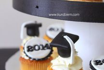 Graduation / Cakes, cupcakes, cookies and cookies for graduation
