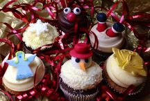 Christmas 2013 / Inspired by classic Christmas songs and available throughout December, our cupcakes were sure to get you in the holiday spirit!