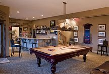 Basement ideas / by Amber Graves