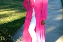 Pink Floor Length Romantic Top / Perfect top for summer!