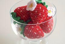Amigurumi fruit and vegetables