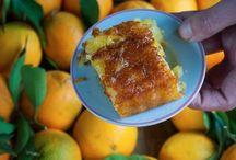 cuisine gateau à l'orange Grec