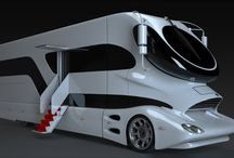 smart cars and bus