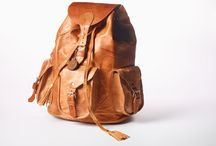 MyMayan / MyMayan Backpacks Unisex / Unique / Handmade / Real Leather / Vintage inspired