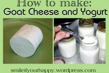 Σπιτικο τυρι & γιαουρτι /DIY cheese & yogurt