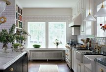 Kitchen / Functional, beautiful, and easy to clean. / by Elizabeth Lee