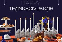 Thanksgivukkah / This holiday won't happen again for another 70,000 years! Seriously. / by Dianne Koenig Mejia