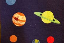 Space & Map-Inspired Art for WLRC Mats