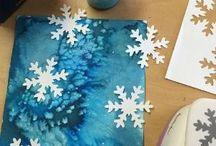 Kreativ - barn - vinter