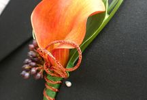 Wedding Flowers | Boutonnieres / Though they are small, boutonnieres can make a big statement.  They add a touch of personality, color and texture to the groom and groomsmen's lapels.