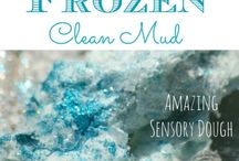 Frozen themed play